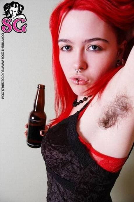 Suicide girls hairy armpits