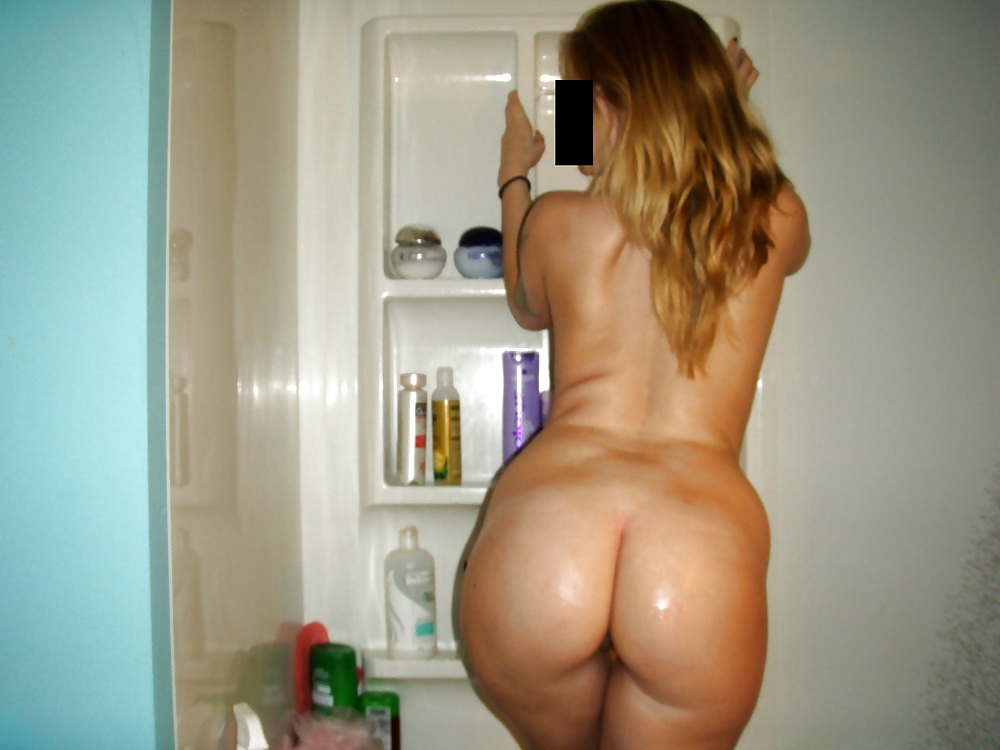Ass white amateur naked