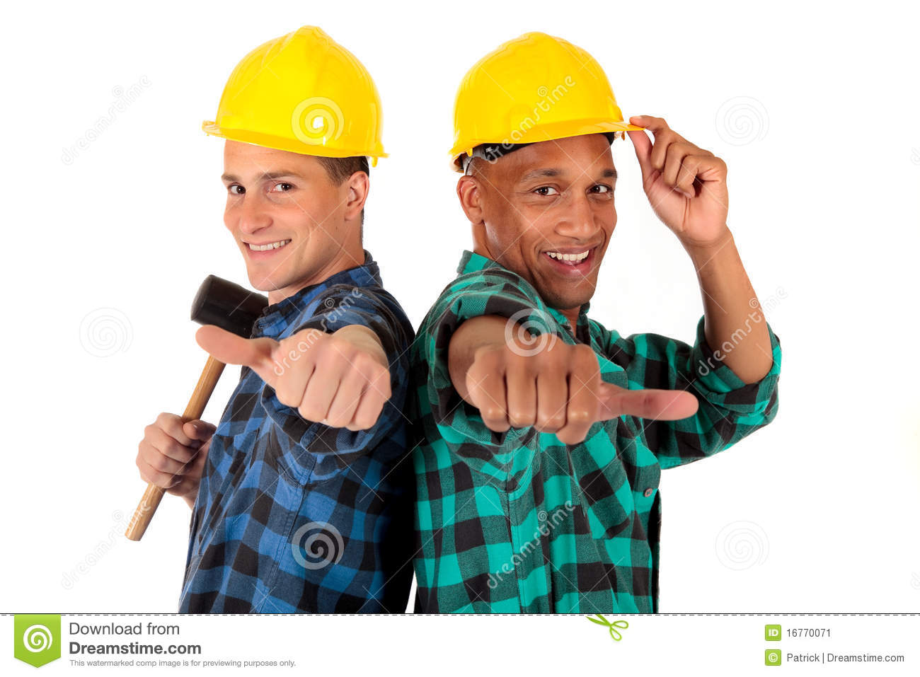 Gay construction worker