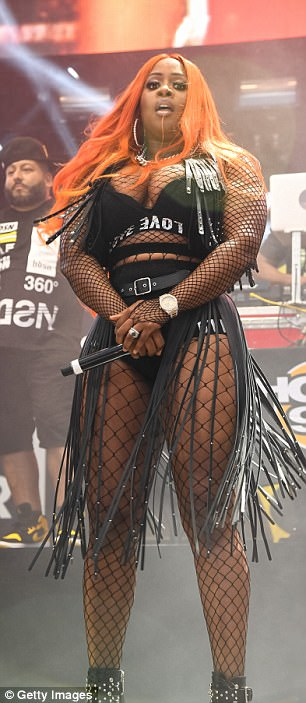 Remy ma topless